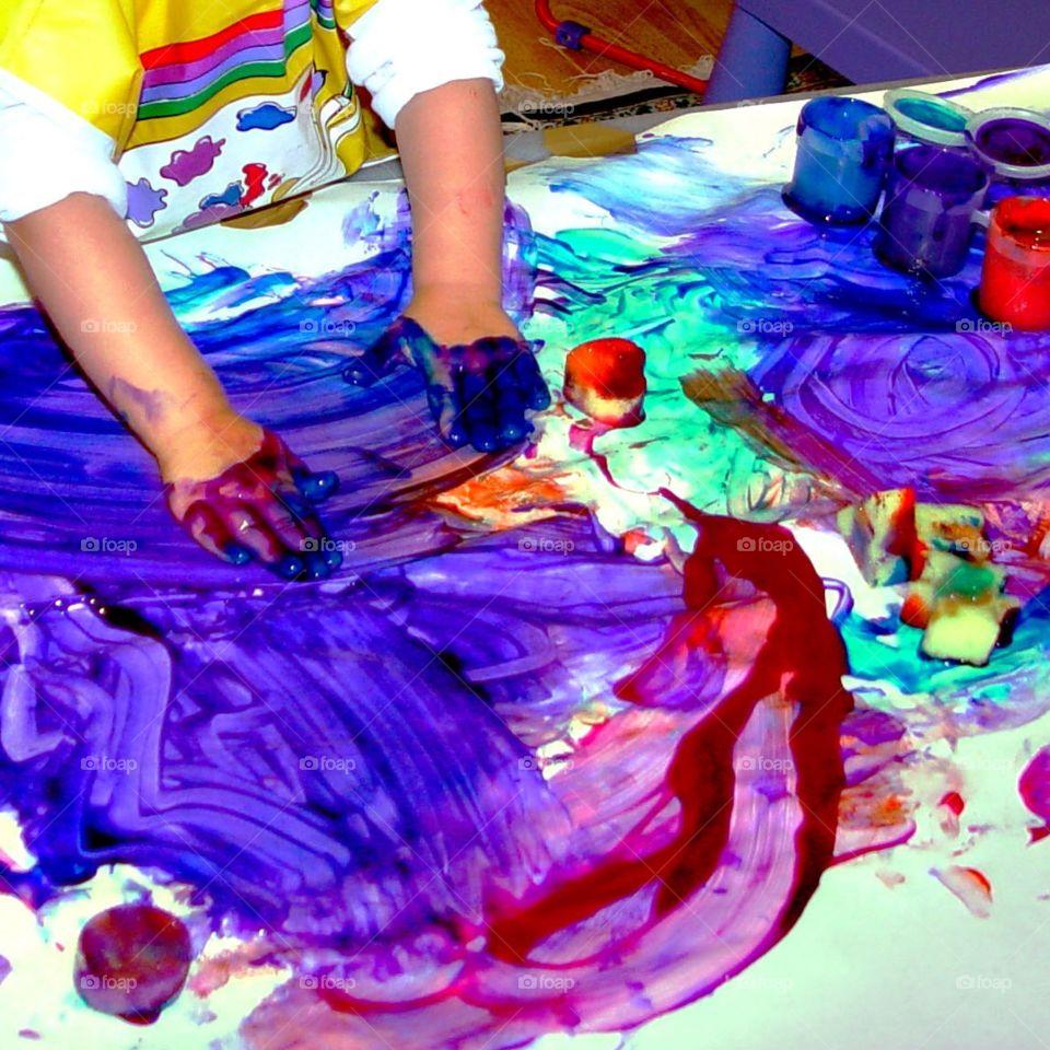 Creative little hands