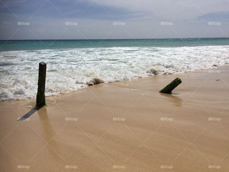 At the Beach Santa Maria Cape Verde