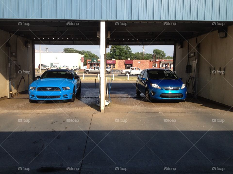 Fords at the Carwash