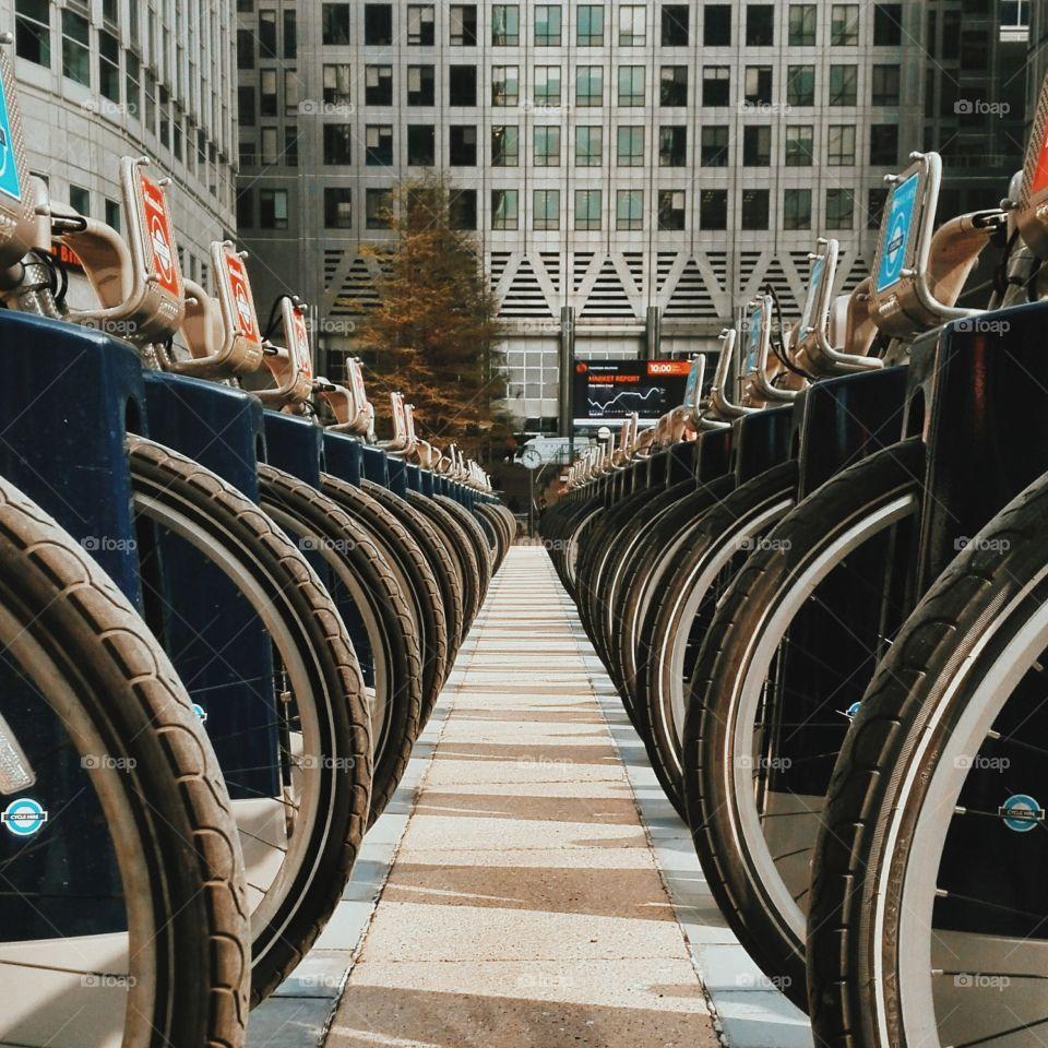 london city bikes
