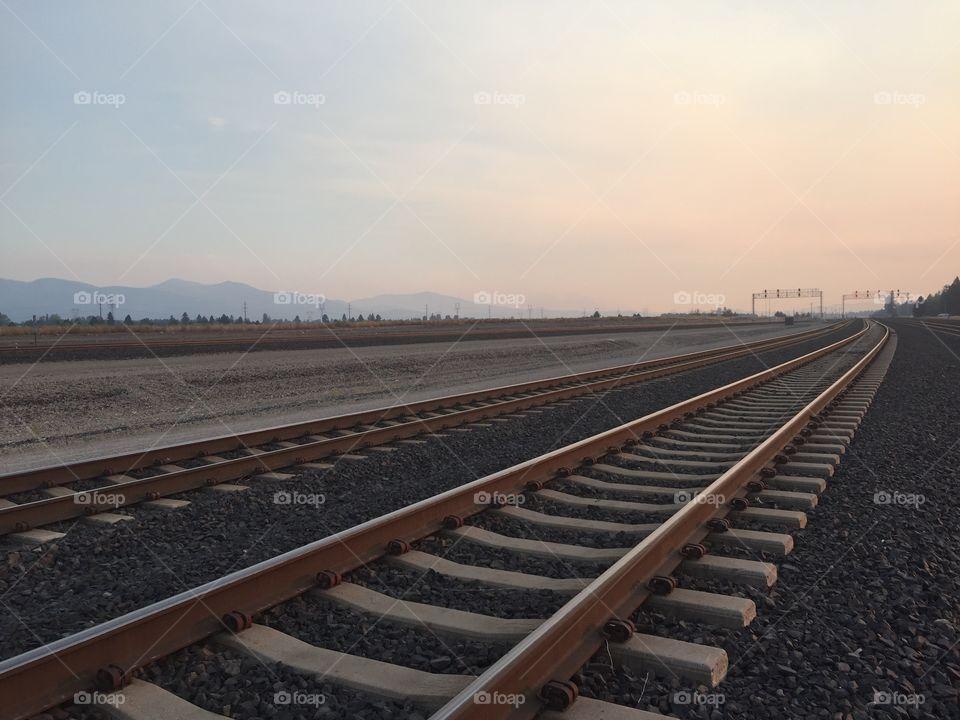 Railway, Locomotive, Track, No Person, Railroad Track