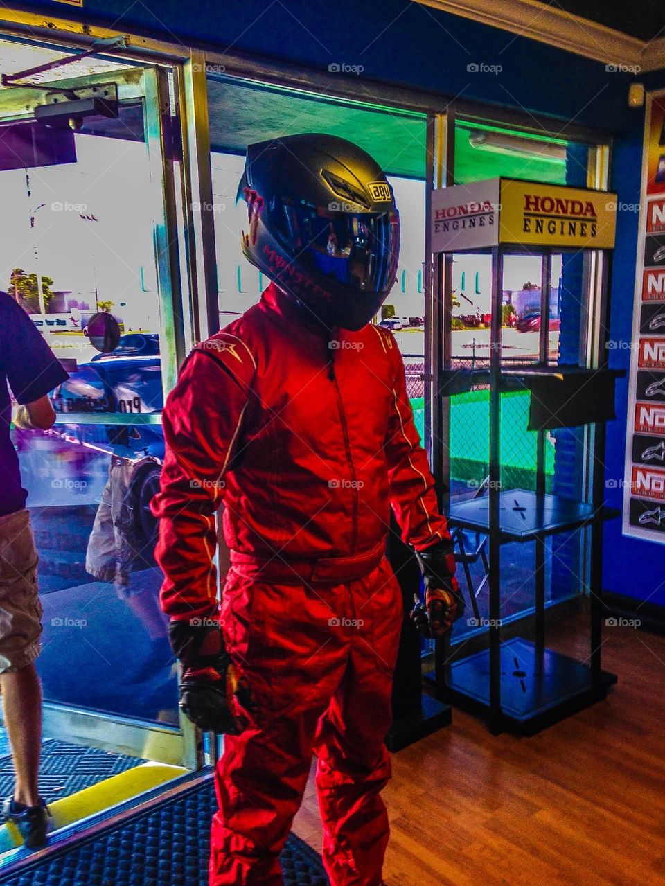 The red stig