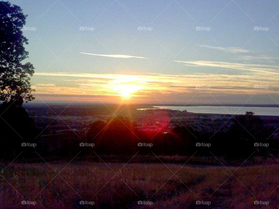 California sunset. heaven