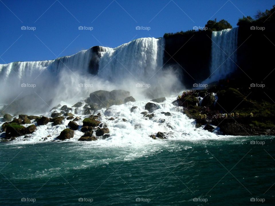 Beautiful Niagara fall, Canada