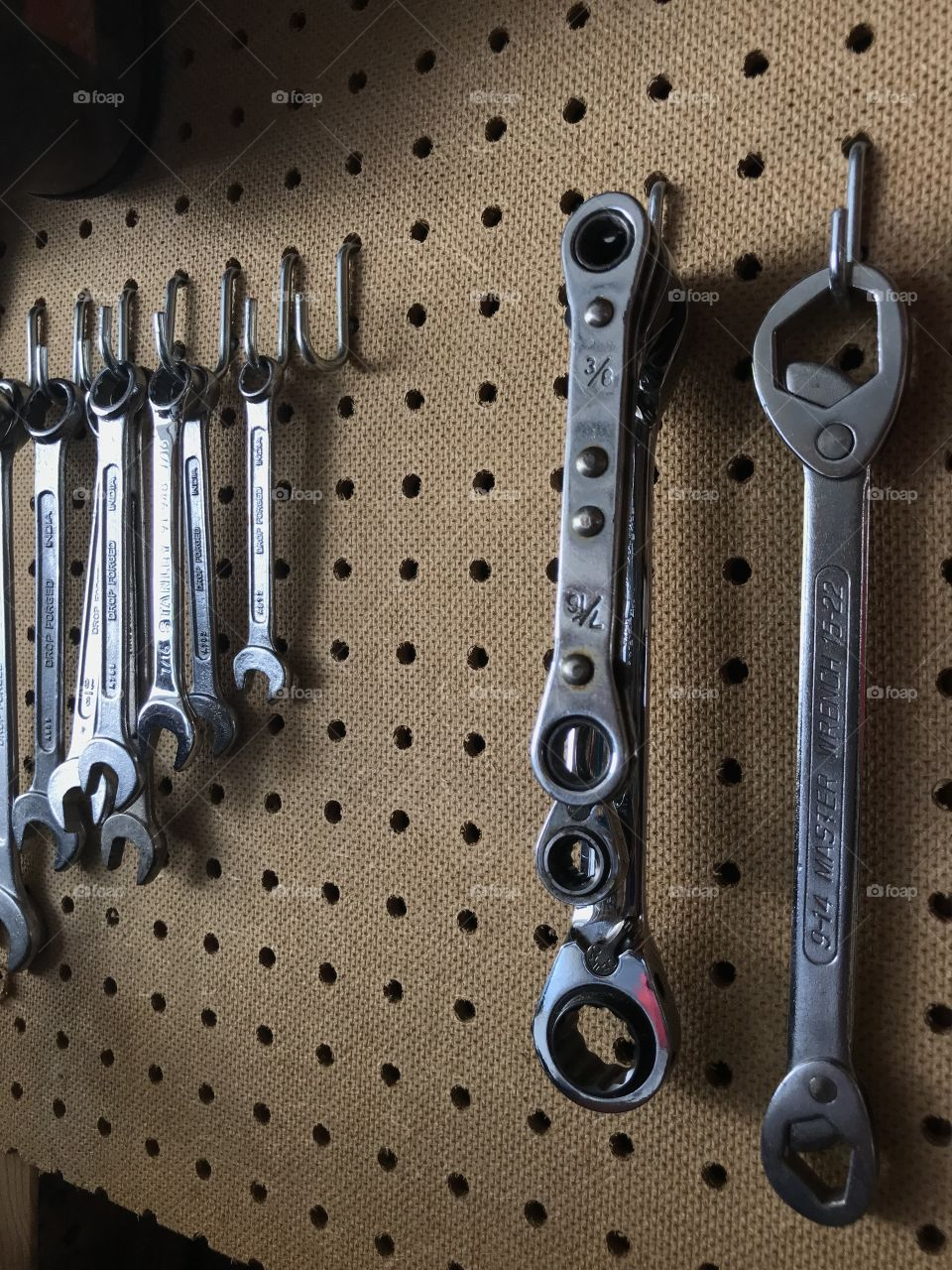 Collection of wrenches