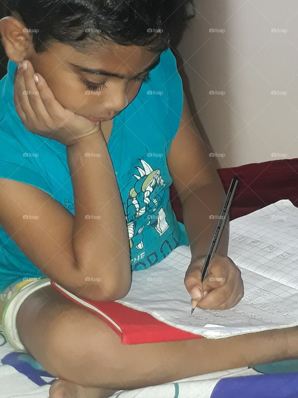writing time..busy with numbers