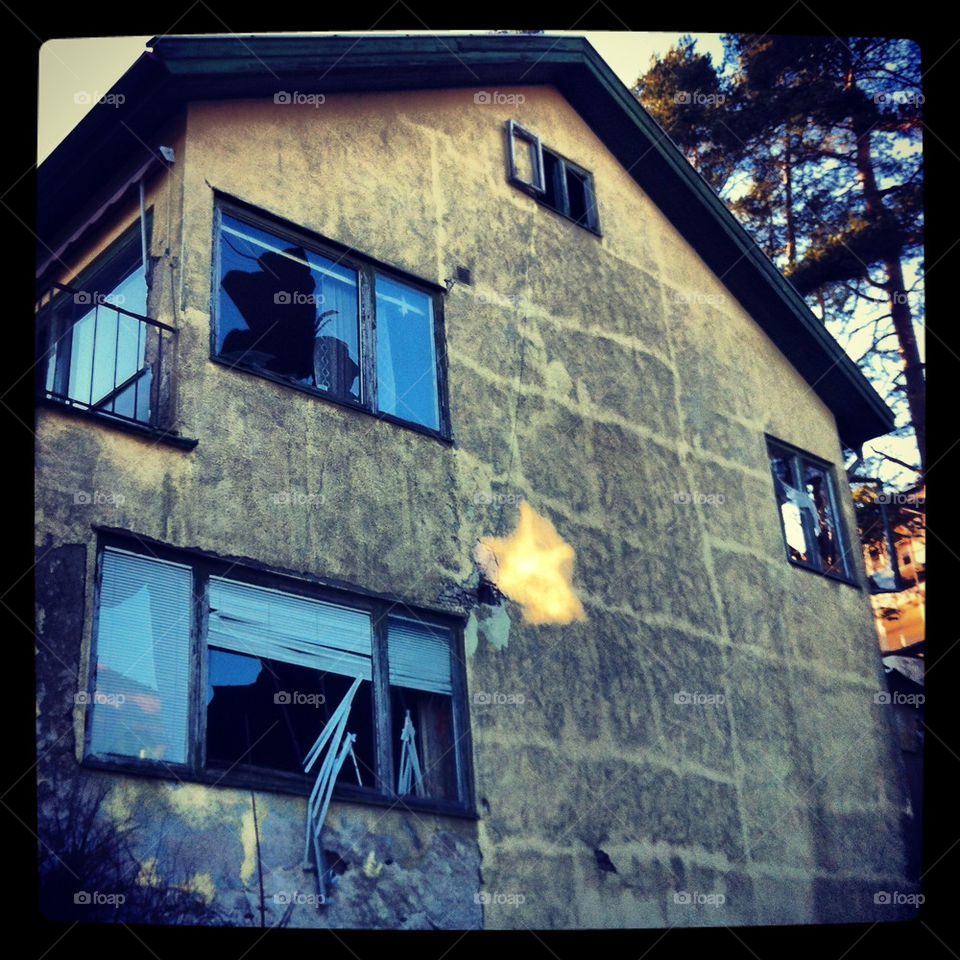 Abandoned house in Örgryte