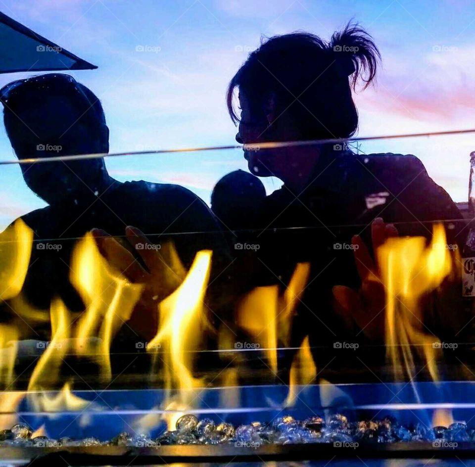 Flamming Date Night