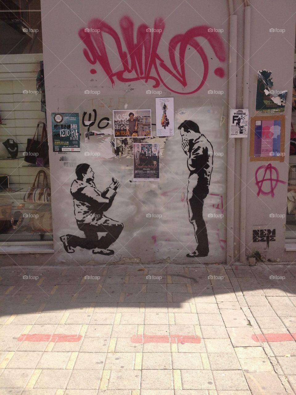 Gay graffiti