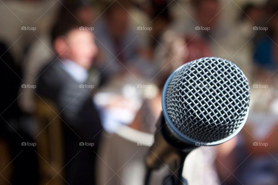 wedding singer speech reception by mikedyer