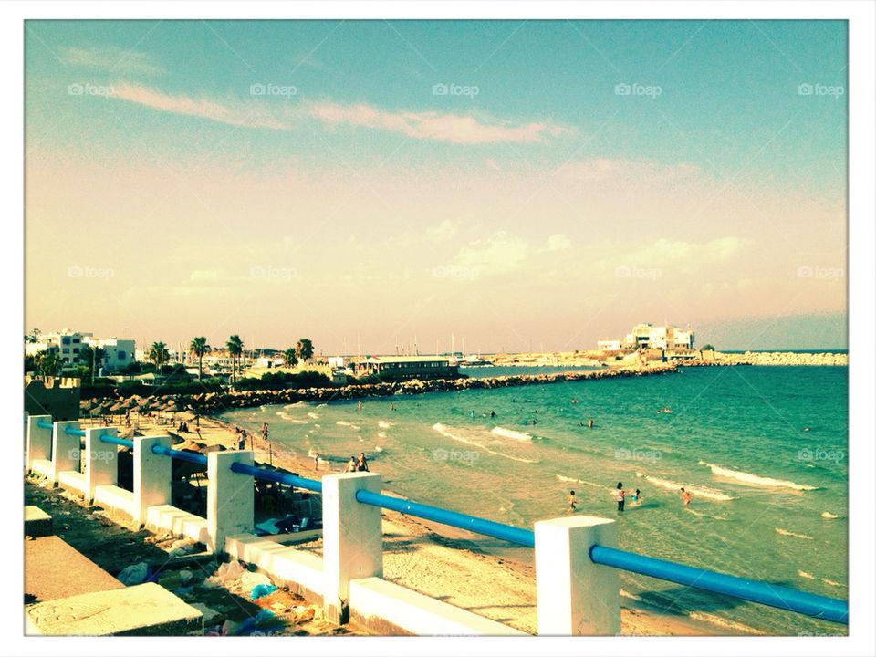 Sea at Monastir