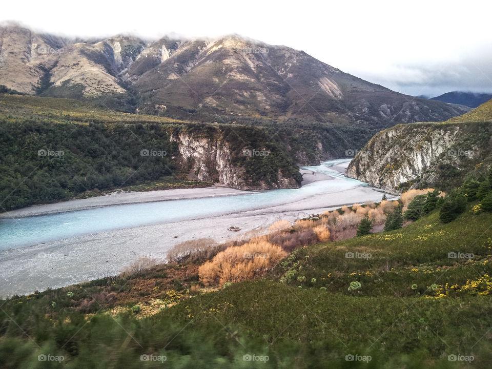 Mountains. Mountain River