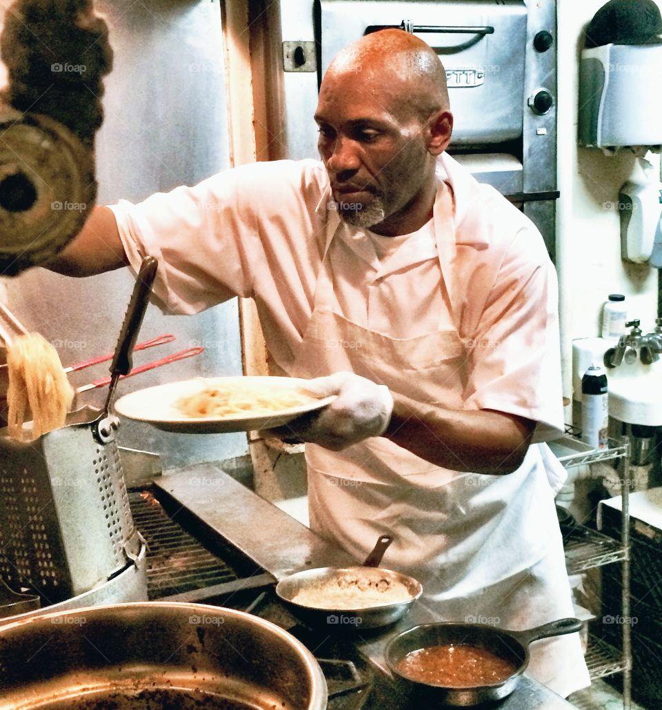 Plating Pasta