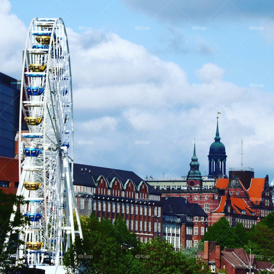 ferris wheel Hamburg