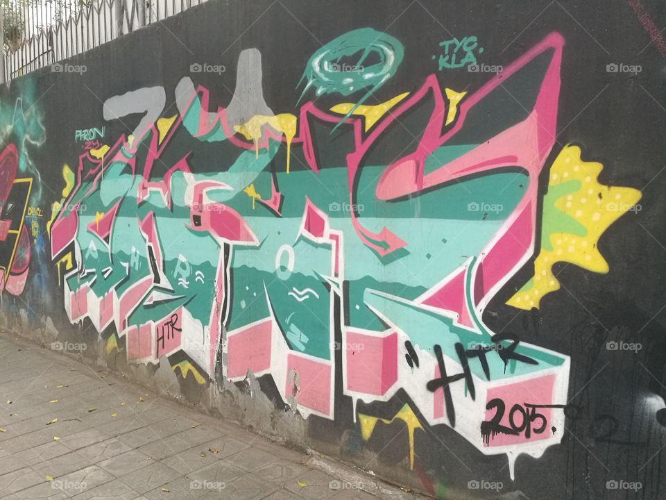 Graffiti Art in Shenzhen, China