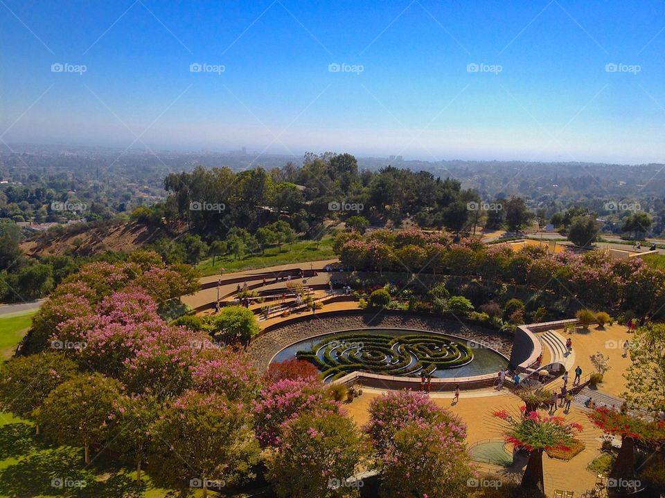 Central Gardens at the Getty