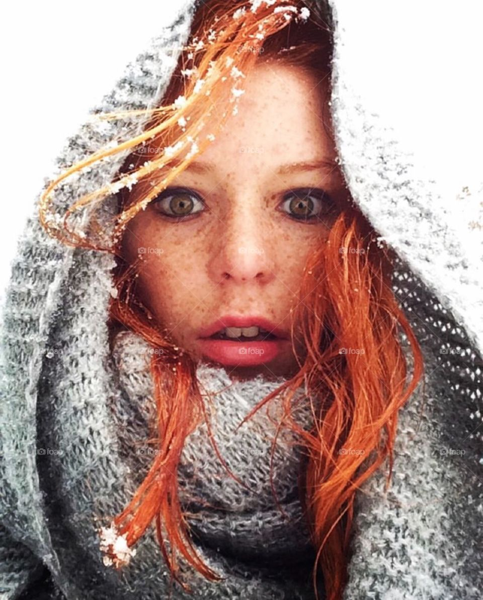 Frozen freckles