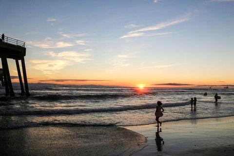 Sunsetting, Huntington Beach Pier