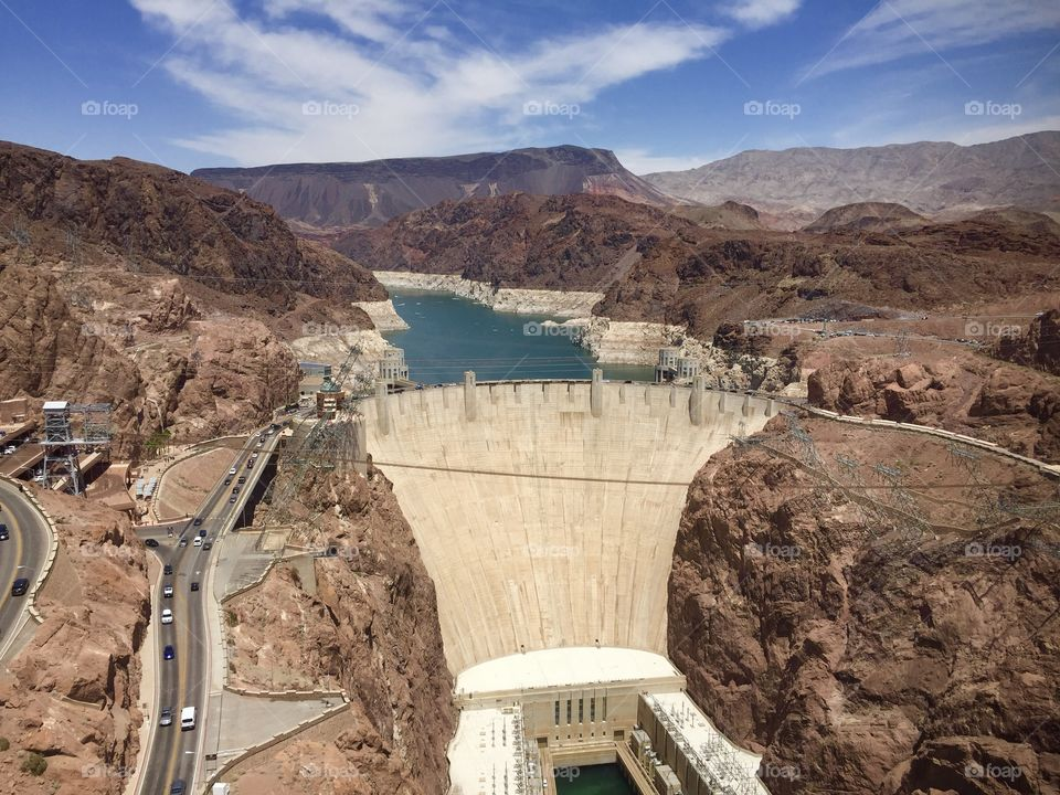 The majestic Hoover Dam
