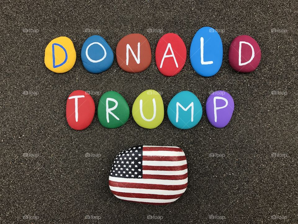Donald Trump, election day