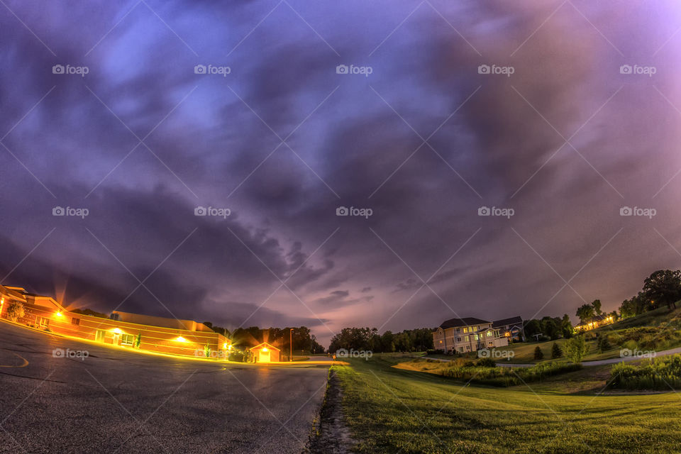 Community Evening Storm