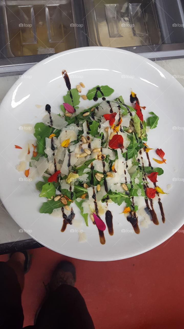 Getting better at my salad making skills