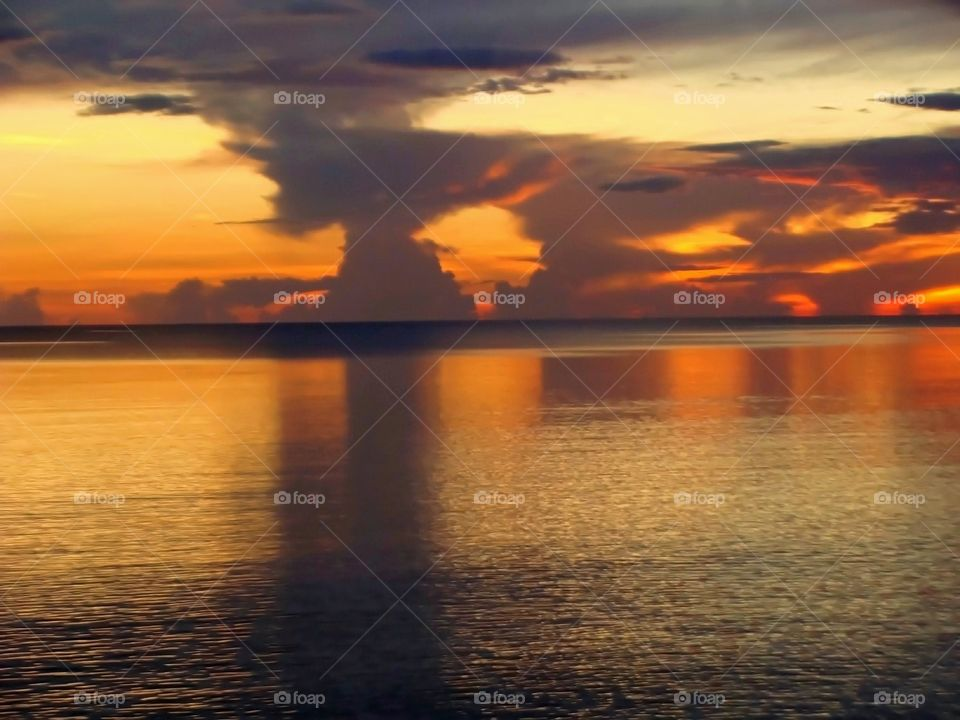 Beautiful Brilliant Sunset