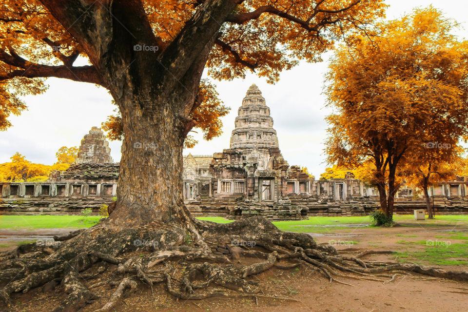 phi mai stone castle of thailand, travel in thailand