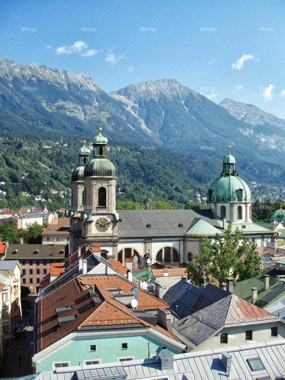 Innsbruck in Austria