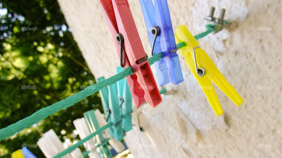 outdoor clothes laundry peg by startomat