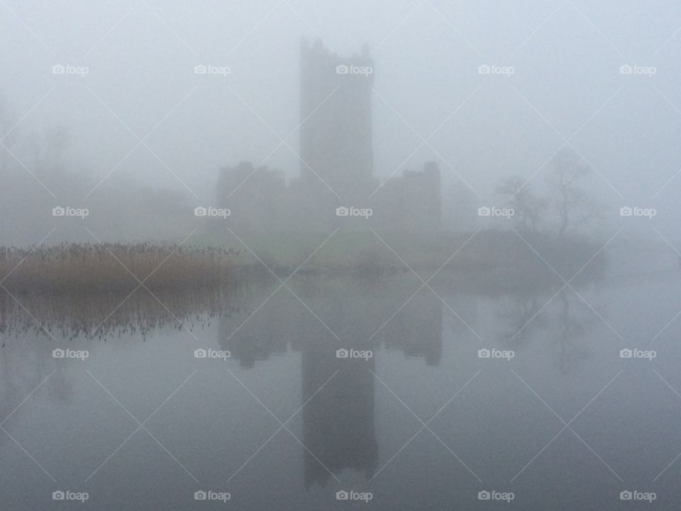 Castle on the fog