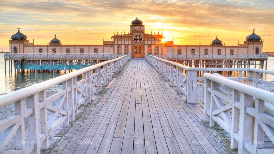 Cold bath house, City of Varberg, Sweden