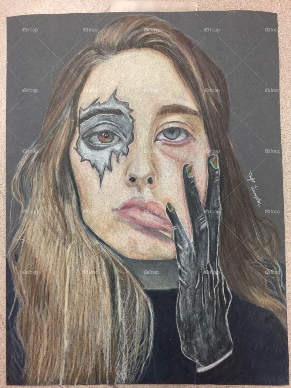 Self Portrait-by Taylor