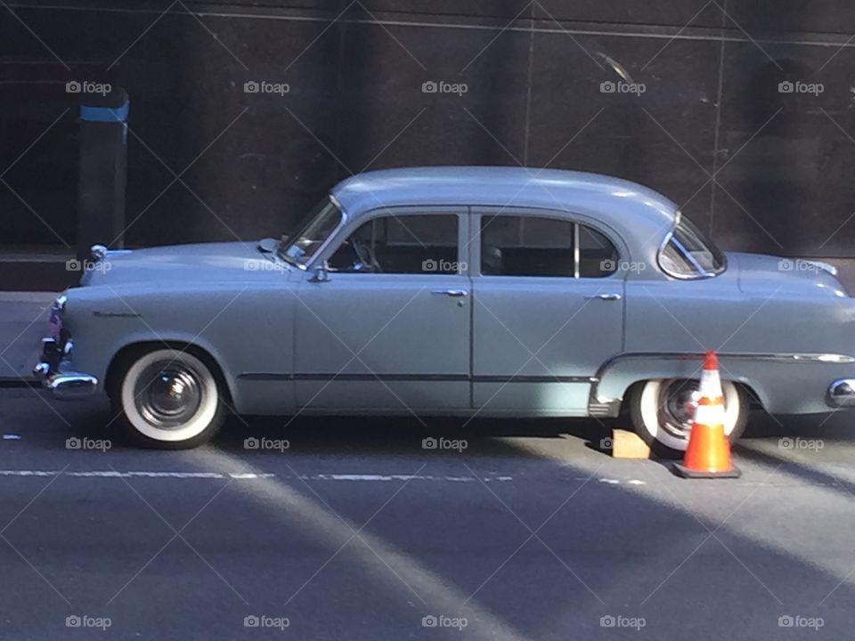 NYC MOVIE MAKING VINTAGE CAR