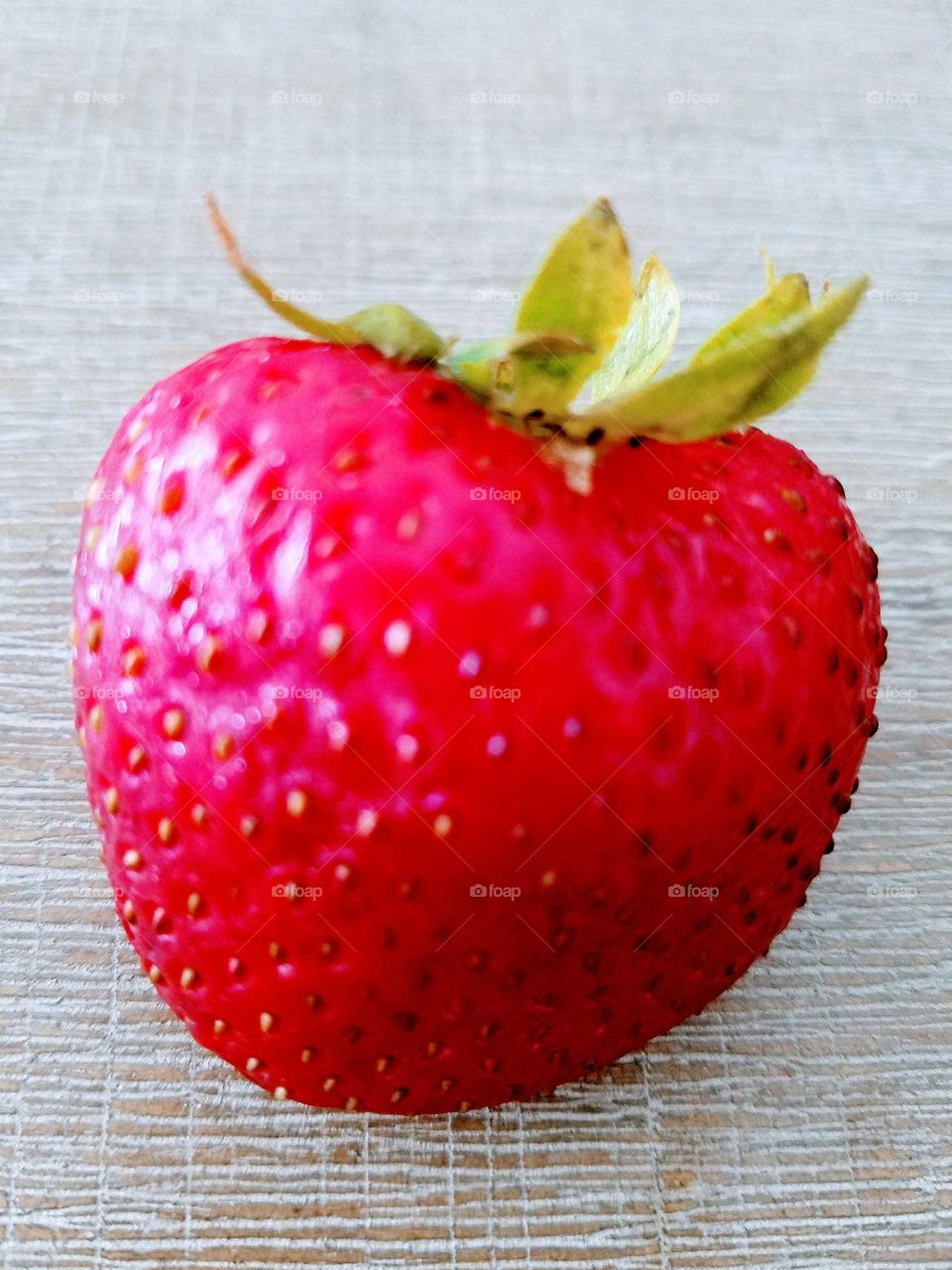 Juicy Strawberry Close-up
